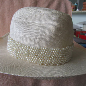VINTAGE mid 90's ESCADA Fedora Hat with tags $400